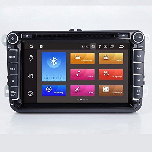 Amazon com: TOPNAVI 8Inch 2Din In Dash Universal Android 8 0