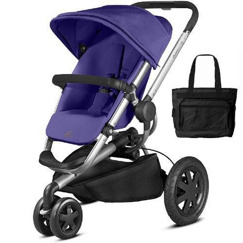 Quinny Buzz Xtra Stroller with Diaper Bag - Purple ()
