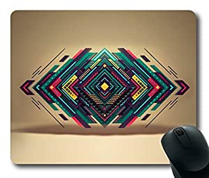 Abstract Design Irregular Graphics Rectangle mouse pad by Custom Service Your Best Choice