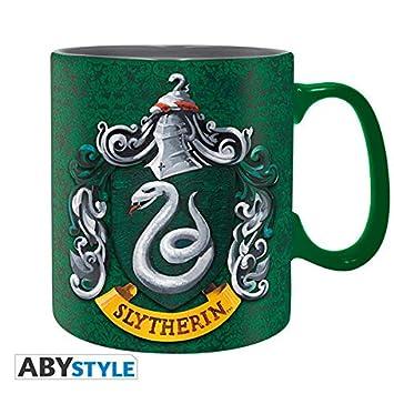 Set Regalo Slytherin. Harry Potter. Taza, Llavero y Pins
