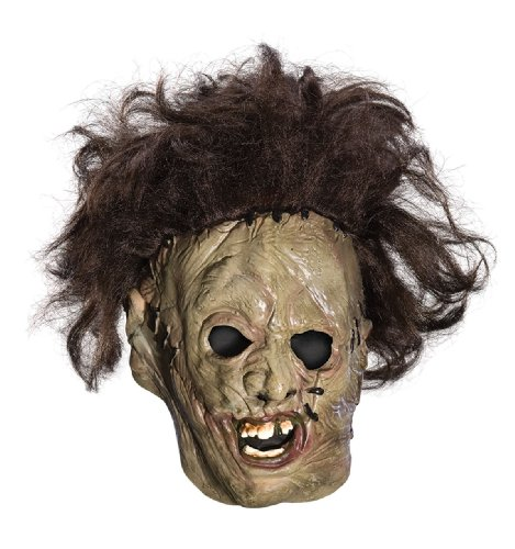 Texas Chainsaw Massacre Child's Leatherface Vinyl Mask (Chainsaw Massacre Halloween Costume)