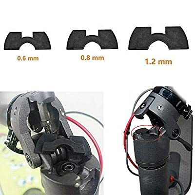 SPY SEE OPEN YOUR EYES SPYSEE Vibration Dampeners Pack for Xiaomi MiJia M365 Electric Scooter (3 Sizes) Black : Sports & Outdoors