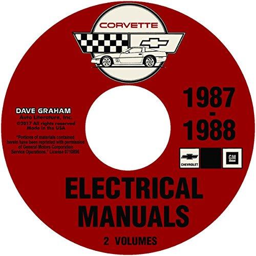 1987 1988 Chevrolet Corvette Wiring Manual Cd All Models Chevy Gm Chevrolet Chevy Amazon Com Books