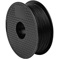 Comgrow Creality PLA 3D Printer Filament, Dimensional Accuracy +/- 0.02 mm,1.75mm 1 kg Spool, Black for Ender3 CR-10