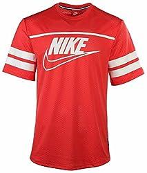 Nike Men's Knows Franchise Football Jersey (Medium, Red)