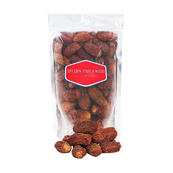 SFT Dates Dry Brown,Black/Sukha Khajoor Superior Quality (Kala Chuara) Grade- Medium Size 1Kg