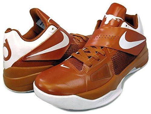 sports shoes 0a499 2d910 Amazon.com   Nike Men s Zoom KD IV Texas Longhorns style   473679-801 10 M  US   Basketball