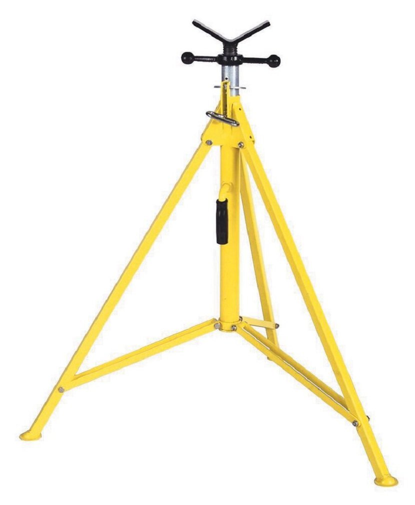 39 to 72 Adjustable Height Capacity Sumner Manufacturing 783250 Hi Boy Jack Stand with Vee Head 1,000 lb