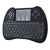 AndThere H9 Backlit Mini Wireless Handheld Keyboard Touchpad Mouse Combo 2.4Ghz Rechargable Lithium Battery for Android TV Box / Laptop / PC / Pad / Xbox 360 / PS3 /HTPC / IPTV
