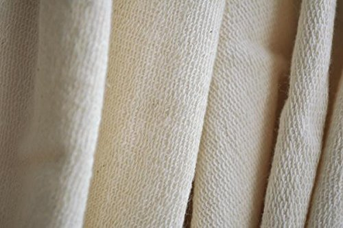 Organic Cotton French Terry Fabric - Natural - 5