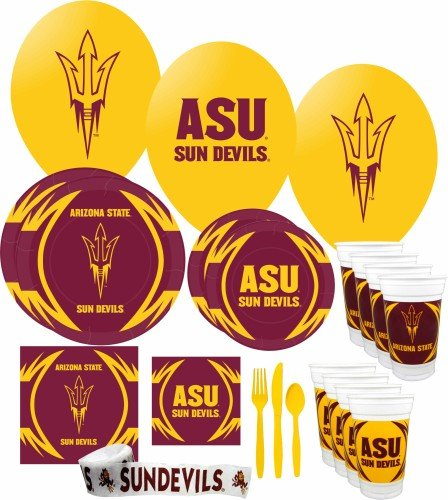 - Arizona State Sun Devils Party Supplies Pack #3