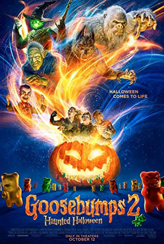 GOOSEBUMPS 2 HAUNTED HALLOWEEN MOVIE POSTER 2 Sided