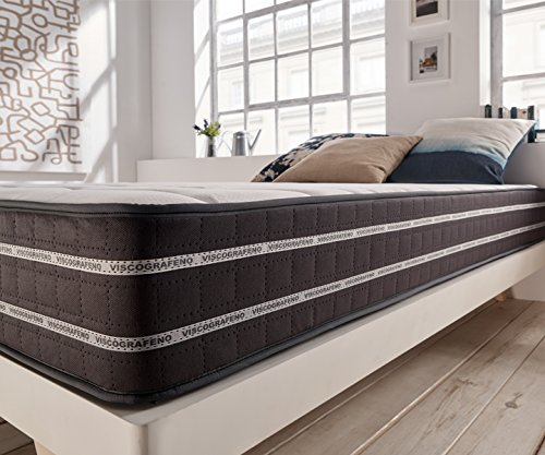 Amazon.com: Zeng- Visco Graphene Anti-Stress Memory Foam Mattress. Medium Firmness Level. 10 Inch, Queen: Kitchen & Dining