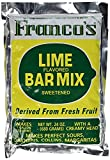 Franco's Lime Margarita Bar Mix -Box of (12) Gallon