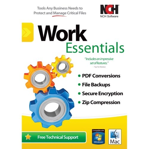 Nch Software Work Essentials - Document Management - Pc, Mac ''Product Category: Software Products/Software Suite''
