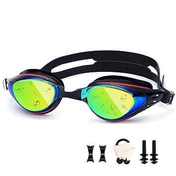 142216b1ec UTOBEST Gafas para Nadar Gafas de Natación Protección contra Miopía y Rayos  UV Cintas: Amazon.es: Deportes y aire libre