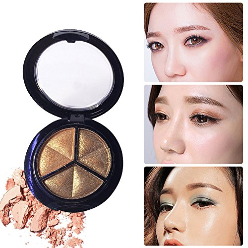 Smoky Cosmetic 3 Colors Natural Matte Eyeshadow Makeup Palette Naked(6#)