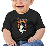 The Doors Rock Band Jim Morrison Pure Color Baby T Shirt