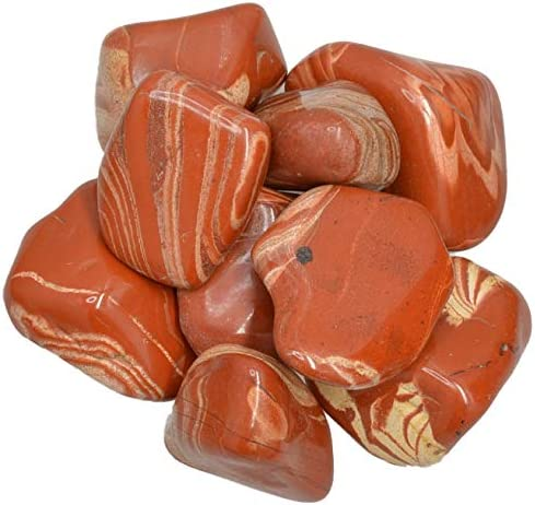 Hypnotic Ranking TOP7 Gems Materials: El Paso Mall 18 lbs Jasper Tumbled Stones fro Flower