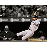 Ichiro Suzuki 2010 Spotlight Action Photo Print (16 x 20)