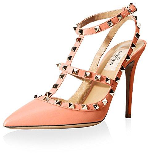 valentino-womens-rockstud-ankle-strap-pump-coral-395-m-eu-95-m-us