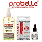 Antifungal Natural Treatment System Solution Kit (3 Piece) - Treats Toenail Fungus, Nail fungus, and Discolored Nails. (Sensitive)