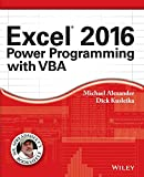 img - for Excel 2016 Power Programming with VBA (Mr. Spreadsheet's Bookshelf) book / textbook / text book