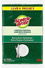 Esponja Scotch Brite Multiuso Leve 4, Pague 3