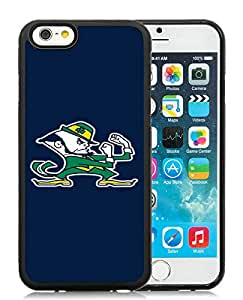 Notre Dame Fighting Irish (2) Black Fantastic Design iPhone 6 4.7 Inch Silicone TPU Cover Case