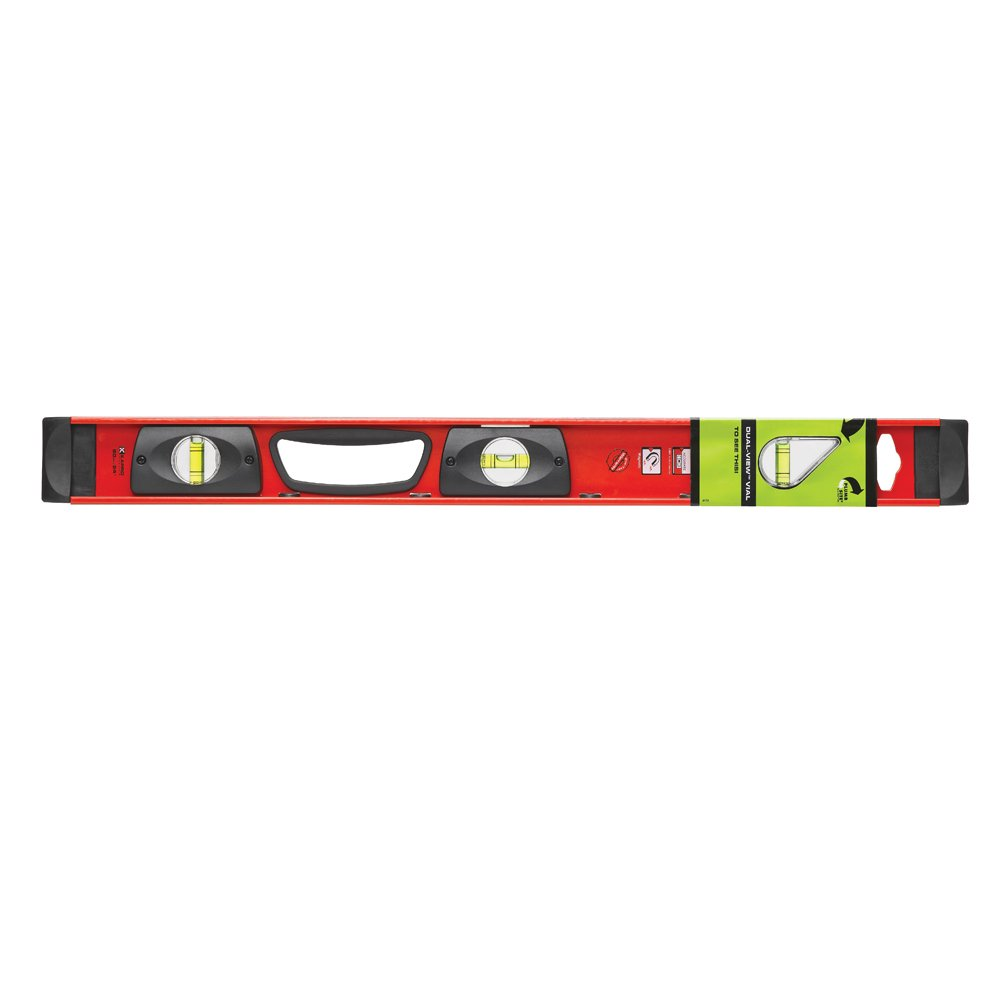 Kapro 170-81-24M Samson Magnetic Contractor I-Beam Level with Plumb Site, 24-Inch