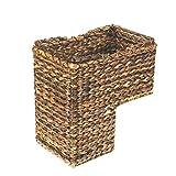 Creative Co-Op DA2452 BacBac Leaves Woven Stair Basket
