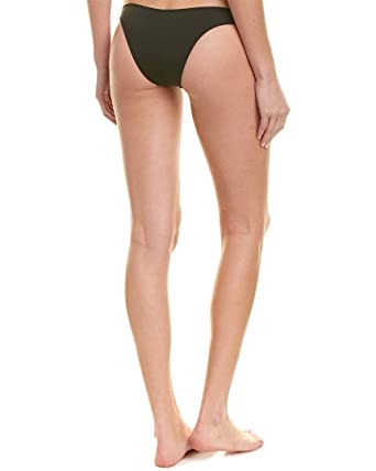 33b7387f67861 Image Unavailable. Image not available for. Color: KENDALL + KYLIE Womens High  Cut Bikini Bottom ...