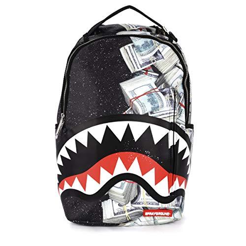 Sprayground - Unisex Adult Money Powder Shark Backpack, Size: O/S, Color: Multi