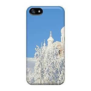 For Iphone Protective Case, High Quality For Case Cover For Apple Iphone 6 Plus 5.5 Inch Orthodox Churches Monasteries In Winter Skin