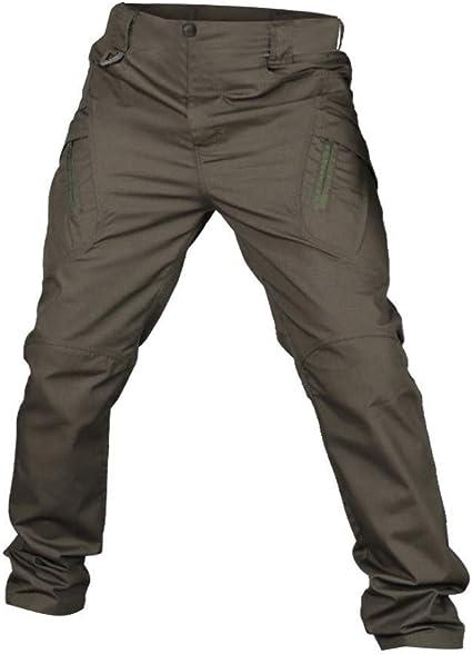 Pantalones Impermeables Para Hombre Pantalones De Trekking Para Hombre Softshell Pantalones Tacticos Multifuncion Antiaranazos Y Antisalpicaduras Para Hombre Pantalones Slim Fit Sport Amazon Es Hogar