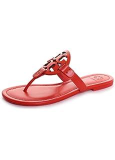 22642b8721b Tory Burch Women s Miller Flip Flop Sandal