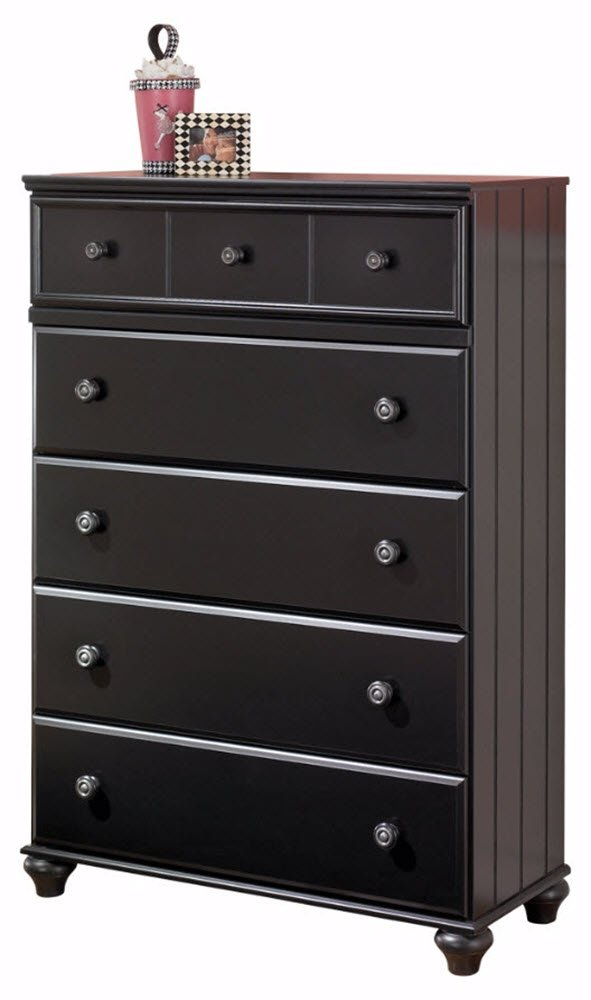 Ashley Furniture Signature Design - Jaidyn Chest of Drawers - 6 Drawer - Black