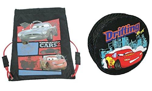 Trademark Sammlungen Disney Cars 2 Trainer Tasche und Reifen geformt Rucksack 3009 1042