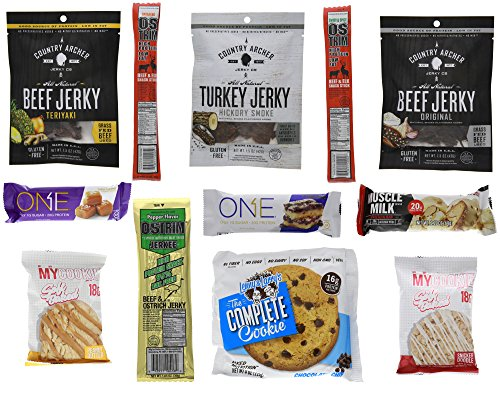 ZogoSportz #1 Ultimate Customer Care Package, Healthy Mixed Protein Snacks Variety 1 (Care Package 12 Count)