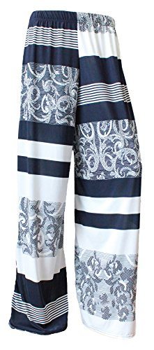 WearAll Plus Womens Palazzo Trousers