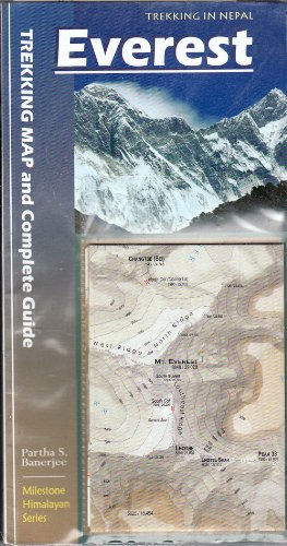 Everest: Trekking Map and Complete Guide (Milestone Himalayan Series) 4th Edition 2017 --- March 2017 by Milestone Books