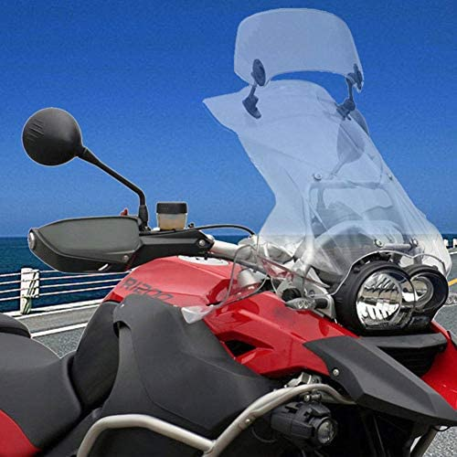 Regolabile Estensione Parabrezza Paraventi Spoiler Deflettore Fit for Africa Twin XRV 650 XRV750T XRV650 CRF1000L XRV750 Pare-brise de d/éflecteur de Vent de Moto RKRCXH Moto Parabrezza Spoiler