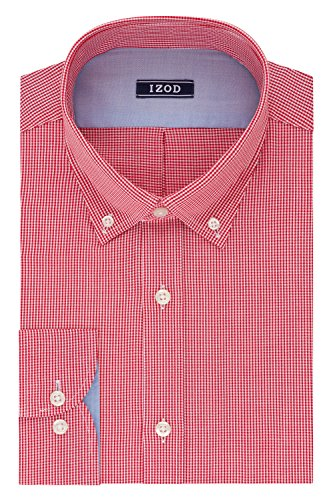 IZOD Gingham Buttondown Collar Dress product image