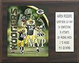 NFL Aaron Rodgers Green Bay Packers Super Bowl MVP Plaque