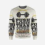 iPrint Mens Indigo Pullover Sweater