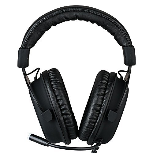 OIVO 7.1 Gaming Headset Virtual Surround Sound for PC USB Computer Headset Noise Cancelling Over Ear Headphones with Microphone for Laptop Gamer (7.1 Headset)