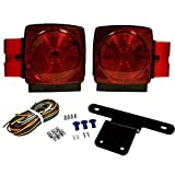Blazer International  C6424 Square Submersible Trailer Light Kit (Misc.)