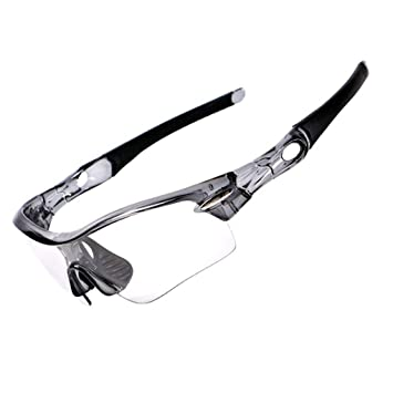 Regard La Rueda hacia Arriba Deportes Fotocromáticas polarizado de los vidrios de Ciclo Gafas de Cristal