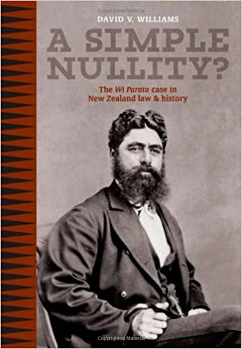 A Simple Nullity?: The Wi Parata Case in New Zealand Law &