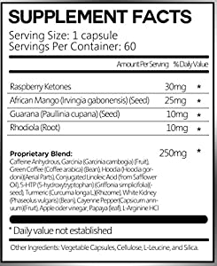 Zenutra, Thermogenic Diet Pill for Fast Weight Loss Pill that Work for All Body Types, with Garcinia Cambogia, Green Coffee, African Mango, 5-HTP, CLA and More, 60ct Dietary Supplement